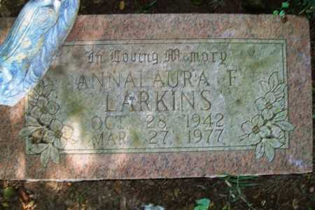 BLACKARD LARKINS, ANNA LAURA F. - Benton County, Arkansas | ANNA LAURA F. BLACKARD LARKINS - Arkansas Gravestone Photos