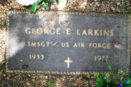 LARKINS (VETERAN), GEORGE EDWARD - Benton County, Arkansas | GEORGE EDWARD LARKINS (VETERAN) - Arkansas Gravestone Photos