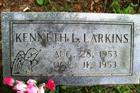 LARKINS, KENNETH L. - Benton County, Arkansas | KENNETH L. LARKINS - Arkansas Gravestone Photos