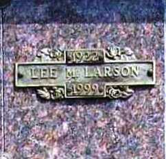 LARSON, LEE MARTIN - Benton County, Arkansas | LEE MARTIN LARSON - Arkansas Gravestone Photos