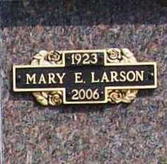 KLAILA LARSON, MARY ELIZABETH - Benton County, Arkansas | MARY ELIZABETH KLAILA LARSON - Arkansas Gravestone Photos
