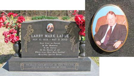 LARUE, LARRY MARK - Benton County, Arkansas | LARRY MARK LARUE - Arkansas Gravestone Photos