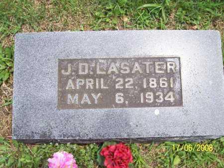 LASATER, JOHN D. - Benton County, Arkansas | JOHN D. LASATER - Arkansas Gravestone Photos