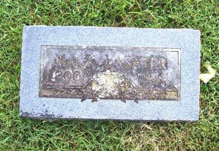 LASATER, MACK - Benton County, Arkansas   MACK LASATER - Arkansas Gravestone Photos