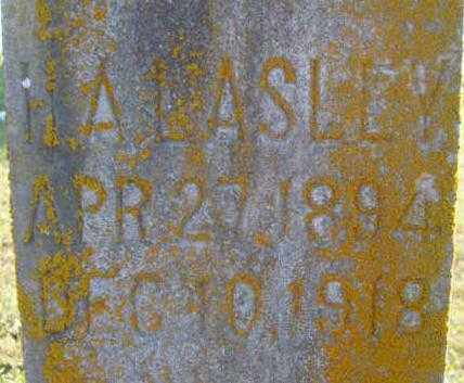 LASLEY, HARVEY A. - Benton County, Arkansas | HARVEY A. LASLEY - Arkansas Gravestone Photos