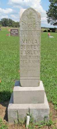 LASLEY, VIOLA DURFEY - Benton County, Arkansas | VIOLA DURFEY LASLEY - Arkansas Gravestone Photos