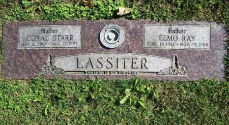 LASSITER, ELMO RAY - Benton County, Arkansas | ELMO RAY LASSITER - Arkansas Gravestone Photos