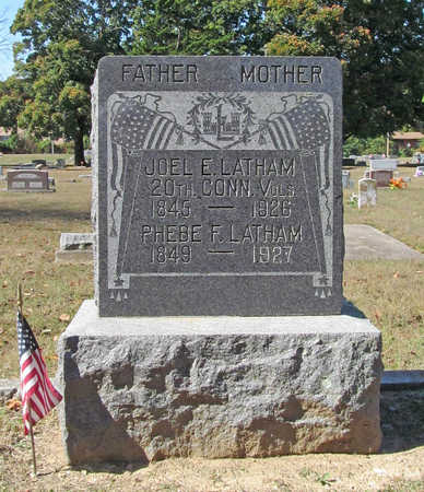 LATHAM (VETERAN UNION), JOEL E - Benton County, Arkansas | JOEL E LATHAM (VETERAN UNION) - Arkansas Gravestone Photos