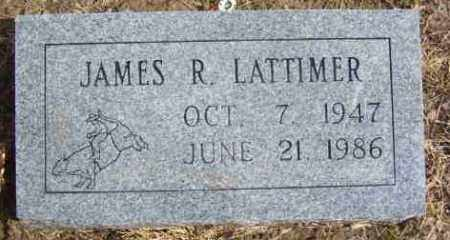 LATTIMER, JAMES RICHARD - Benton County, Arkansas | JAMES RICHARD LATTIMER - Arkansas Gravestone Photos
