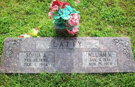 LATTY, SOPHA A. - Benton County, Arkansas | SOPHA A. LATTY - Arkansas Gravestone Photos