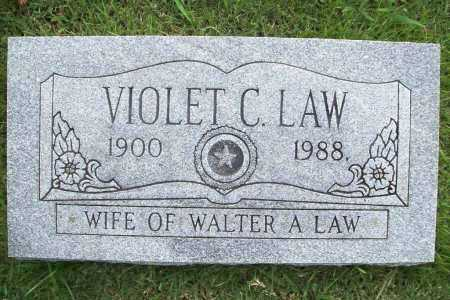 LAW, VIOLET C. - Benton County, Arkansas | VIOLET C. LAW - Arkansas Gravestone Photos