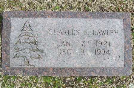 LAWLEY, CHARLES E. - Benton County, Arkansas | CHARLES E. LAWLEY - Arkansas Gravestone Photos