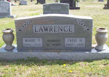 LAWRENCE, FRED NEWTON - Benton County, Arkansas | FRED NEWTON LAWRENCE - Arkansas Gravestone Photos