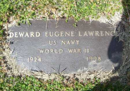 LAWRENCE (VETERAN WWII), DEWARD EUGENE - Benton County, Arkansas | DEWARD EUGENE LAWRENCE (VETERAN WWII) - Arkansas Gravestone Photos