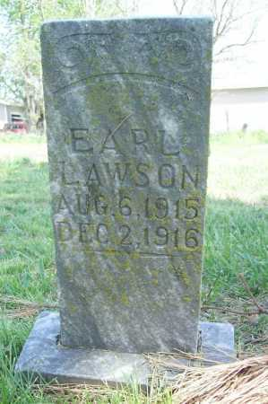LAWSON, EARL - Benton County, Arkansas | EARL LAWSON - Arkansas Gravestone Photos