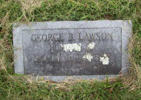 LAWSON, GEORGE B. - Benton County, Arkansas | GEORGE B. LAWSON - Arkansas Gravestone Photos