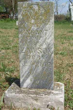 LAWSON, INFANT SON - Benton County, Arkansas | INFANT SON LAWSON - Arkansas Gravestone Photos