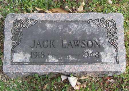 LAWSON, JACK - Benton County, Arkansas | JACK LAWSON - Arkansas Gravestone Photos