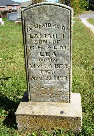 LEA, LAMAR P. - Benton County, Arkansas | LAMAR P. LEA - Arkansas Gravestone Photos