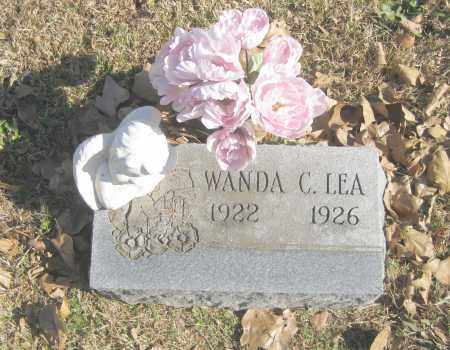 LEA, WANDA C. - Benton County, Arkansas | WANDA C. LEA - Arkansas Gravestone Photos