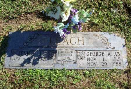 "LEACH, GEORGE A. ""AB"" - Benton County, Arkansas 