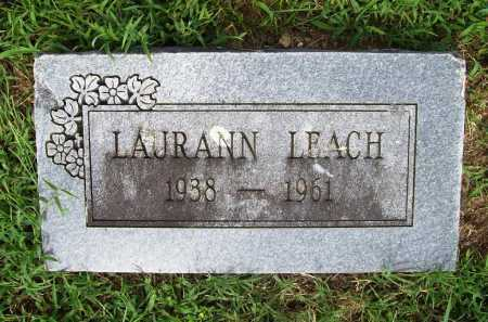 LEACH, LAURANN - Benton County, Arkansas | LAURANN LEACH - Arkansas Gravestone Photos