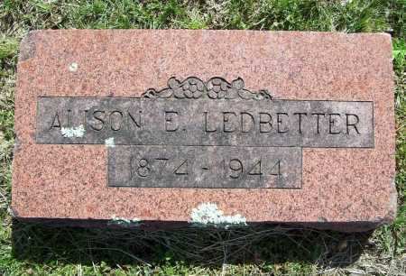 LEDBETTER, ALISON E. - Benton County, Arkansas | ALISON E. LEDBETTER - Arkansas Gravestone Photos
