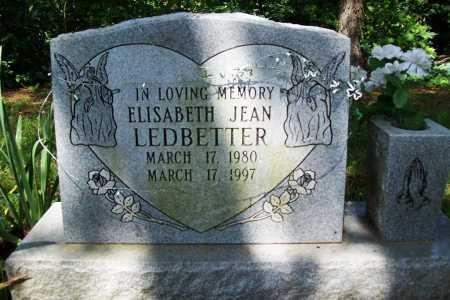 LEDBETTER, ELISABETH JEAN - Benton County, Arkansas | ELISABETH JEAN LEDBETTER - Arkansas Gravestone Photos