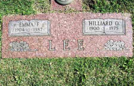 LEE, EMMA F. - Benton County, Arkansas | EMMA F. LEE - Arkansas Gravestone Photos