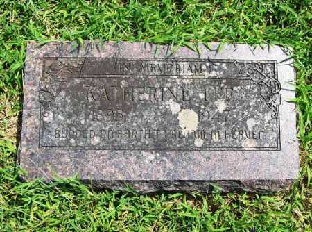 LEE, KATHERINE - Benton County, Arkansas | KATHERINE LEE - Arkansas Gravestone Photos