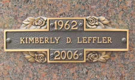 LEFFLER, KIMBERLY D. - Benton County, Arkansas | KIMBERLY D. LEFFLER - Arkansas Gravestone Photos