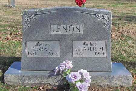 LENON, CORA E - Benton County, Arkansas | CORA E LENON - Arkansas Gravestone Photos