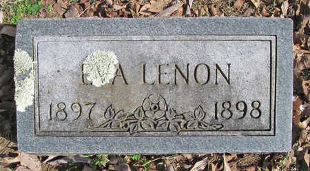 LENON, EVA - Benton County, Arkansas | EVA LENON - Arkansas Gravestone Photos