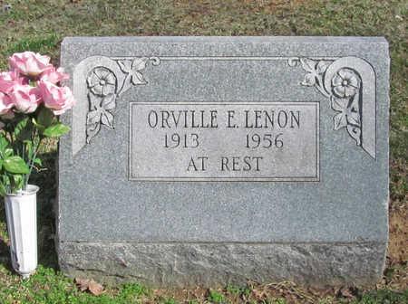 LENON, ORVILLE E - Benton County, Arkansas | ORVILLE E LENON - Arkansas Gravestone Photos