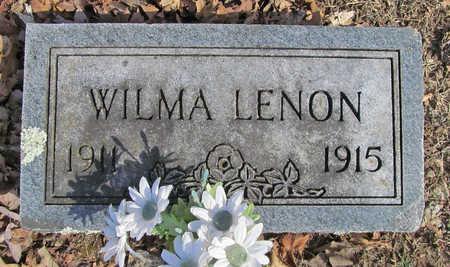 LENON, WILMA - Benton County, Arkansas   WILMA LENON - Arkansas Gravestone Photos