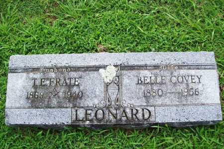 LEONARD, BELLE - Benton County, Arkansas | BELLE LEONARD - Arkansas Gravestone Photos