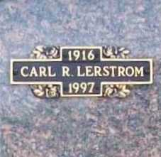 LERSTROM, CARL R. - Benton County, Arkansas | CARL R. LERSTROM - Arkansas Gravestone Photos