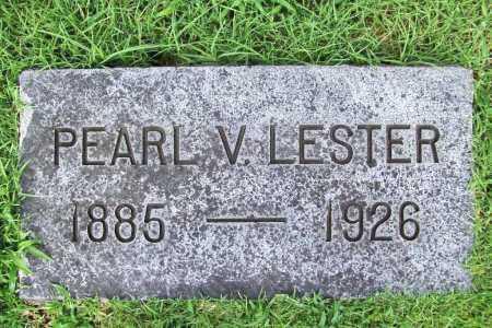 LESTER, PEARL V. - Benton County, Arkansas | PEARL V. LESTER - Arkansas Gravestone Photos