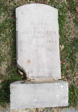 LEWALLEN, ELVINA - Benton County, Arkansas | ELVINA LEWALLEN - Arkansas Gravestone Photos