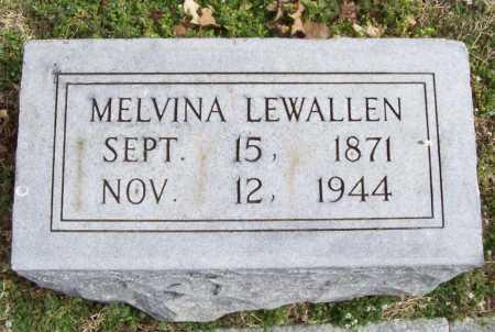 LEWALLEN, MELVINA - Benton County, Arkansas | MELVINA LEWALLEN - Arkansas Gravestone Photos