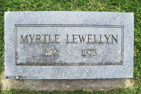 LEWELLYN, MYRTLE - Benton County, Arkansas | MYRTLE LEWELLYN - Arkansas Gravestone Photos