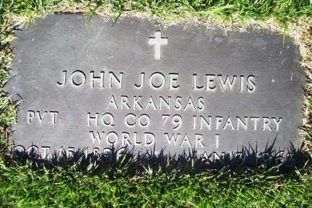 LEWIS (VETERAN WWI), JOHN JOE - Benton County, Arkansas | JOHN JOE LEWIS (VETERAN WWI) - Arkansas Gravestone Photos