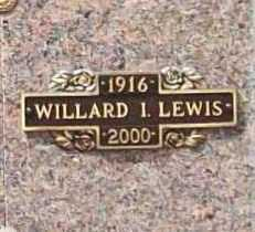 LEWIS, WILLARD I. - Benton County, Arkansas | WILLARD I. LEWIS - Arkansas Gravestone Photos