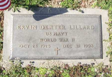 LILLARD (VETERAN WWII), ERVIN DEXTER - Benton County, Arkansas | ERVIN DEXTER LILLARD (VETERAN WWII) - Arkansas Gravestone Photos