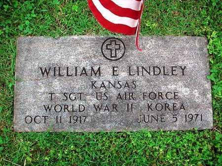 LINDLEY (VETERAN 2 WARS), WILLIAM E. - Benton County, Arkansas | WILLIAM E. LINDLEY (VETERAN 2 WARS) - Arkansas Gravestone Photos