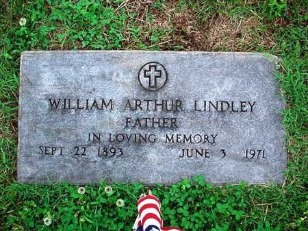 LINDLEY, WILLIAM ARTHUR - Benton County, Arkansas | WILLIAM ARTHUR LINDLEY - Arkansas Gravestone Photos