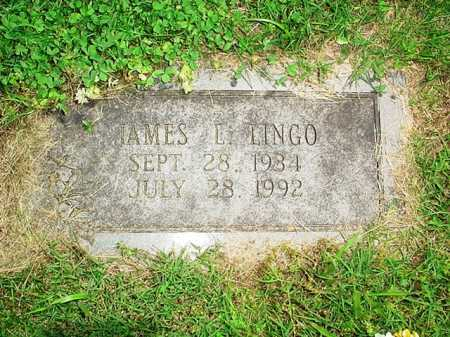 LINGO, JAMES L. - Benton County, Arkansas | JAMES L. LINGO - Arkansas Gravestone Photos