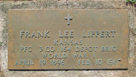 LIPPERT (VETERAN WWI), FRANK LEE - Benton County, Arkansas | FRANK LEE LIPPERT (VETERAN WWI) - Arkansas Gravestone Photos