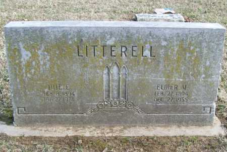 LITTERELL, ELMER V. - Benton County, Arkansas | ELMER V. LITTERELL - Arkansas Gravestone Photos