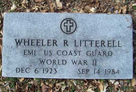LITTERELL (VETERAN WWII), WHEELER R - Benton County, Arkansas | WHEELER R LITTERELL (VETERAN WWII) - Arkansas Gravestone Photos